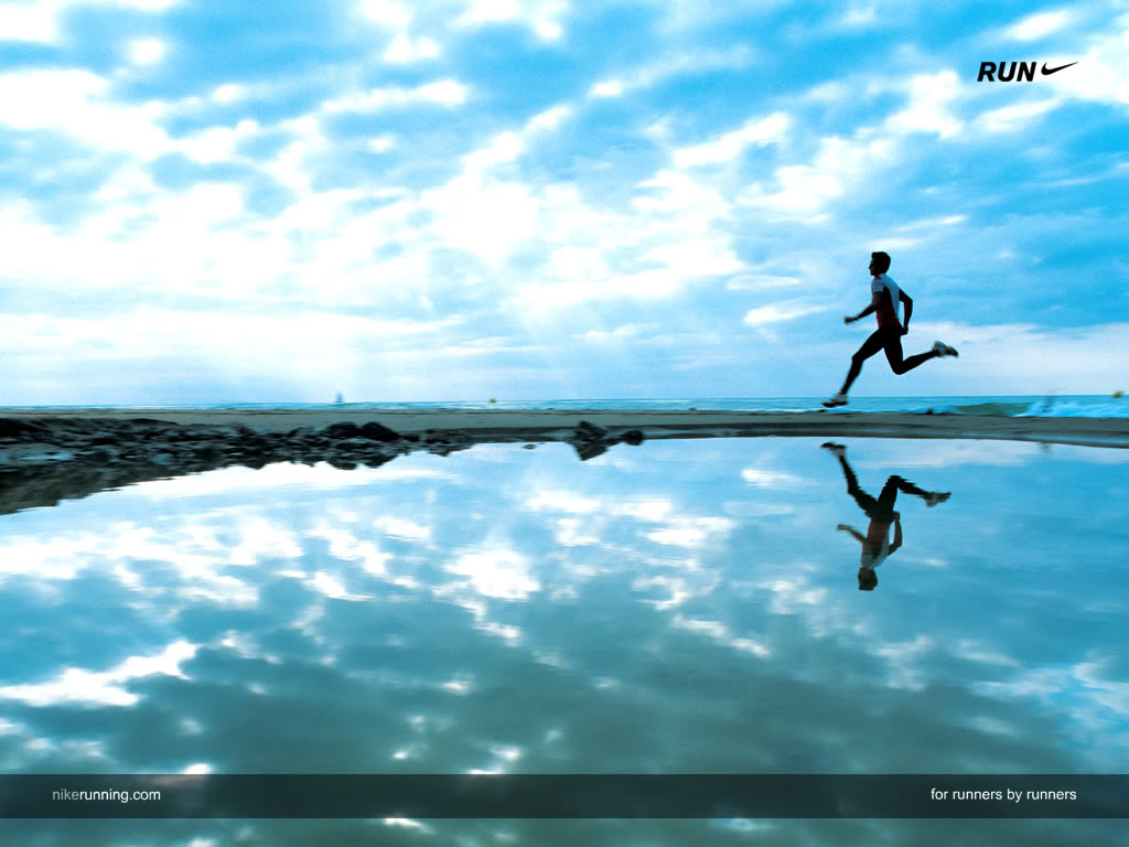 Nike Run Wallpaper Background Theme Desktop 1024x768