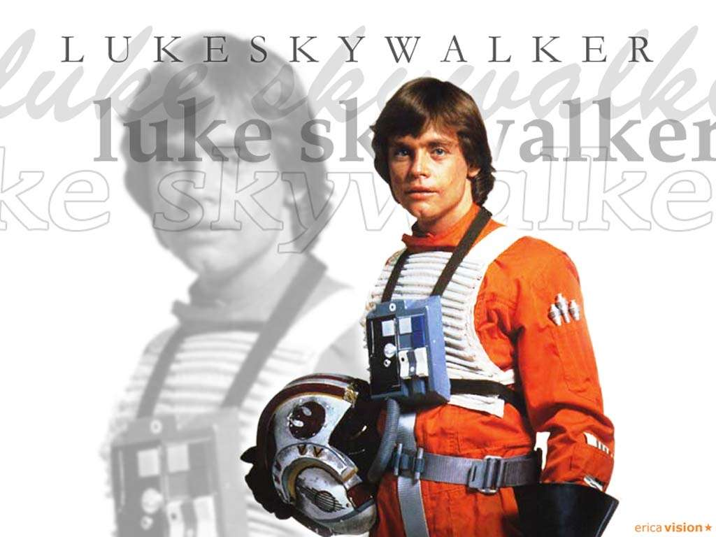 Luke pilot wallpaper   Luke Skywalker Wallpaper 25107523 1024x768