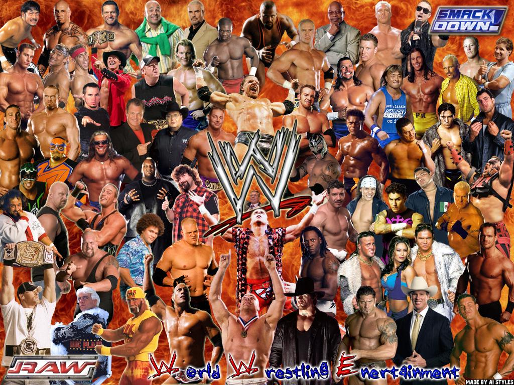 WWE Superstars Wallpaper   WWE on Wrestling Media 1024x768
