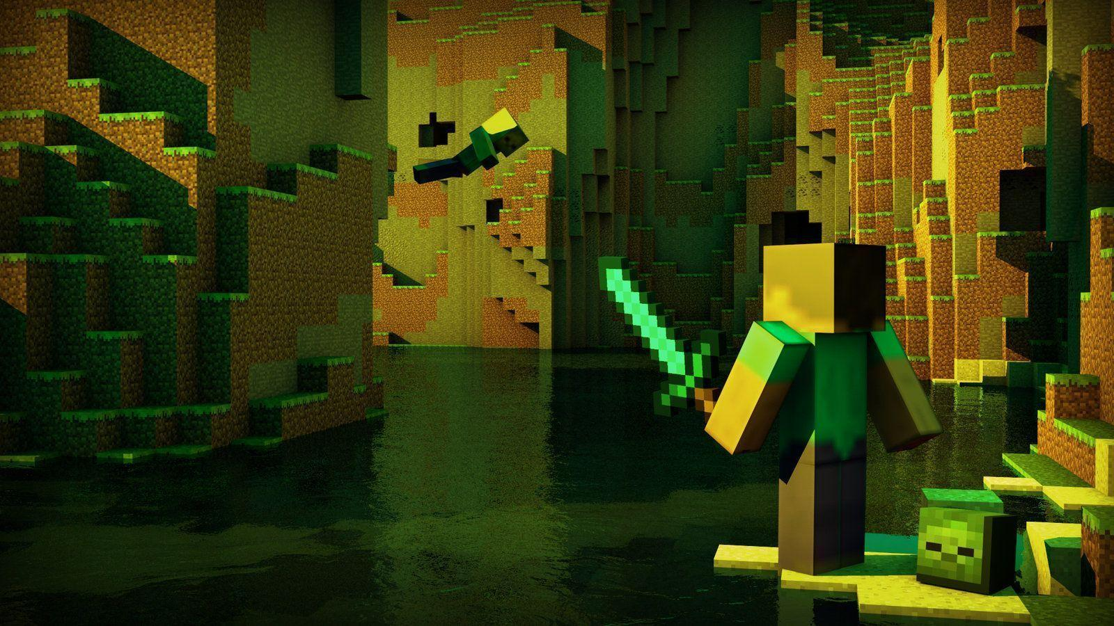 Awesome Minecraft Wallpapers 1600x900
