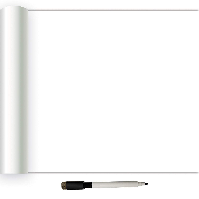NuWallpaper NU2497 Dry Erase Peel Stick Wallpaper White Off 1500x1500