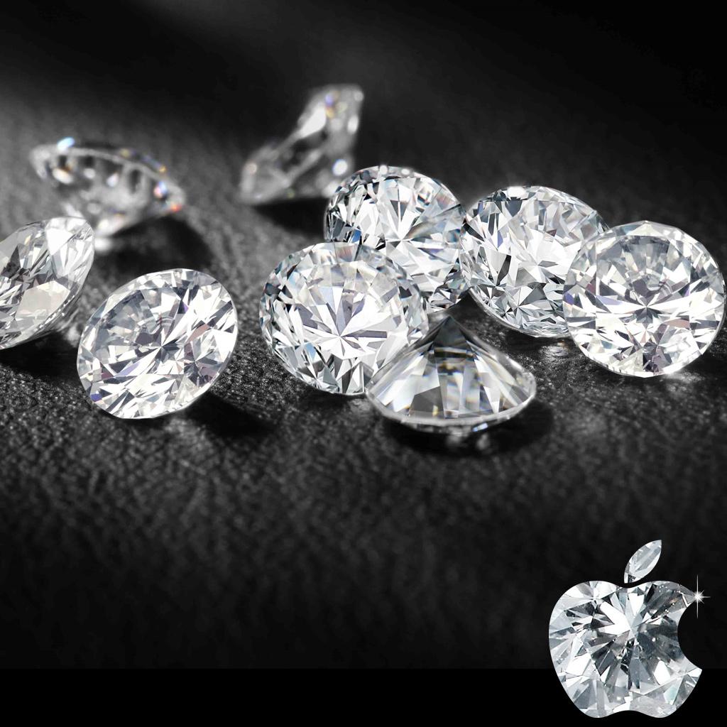 Jewelry Designs Ipad Diamond Wallpaper 1024x1024