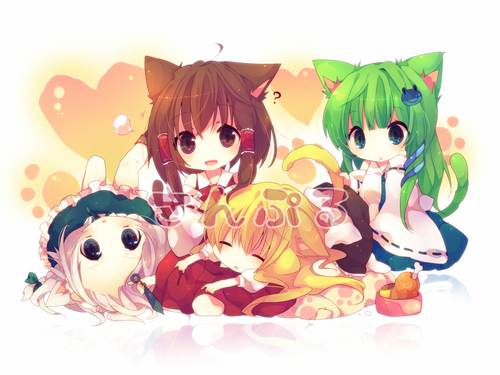 comTopic Cute and Perky Anime. Cute Chibi Wallpaper