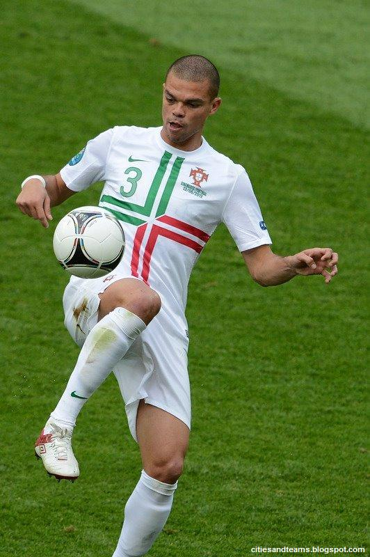 Pepe Portuguese Brave Central Defender Euro 2012 Portugal National 532x800