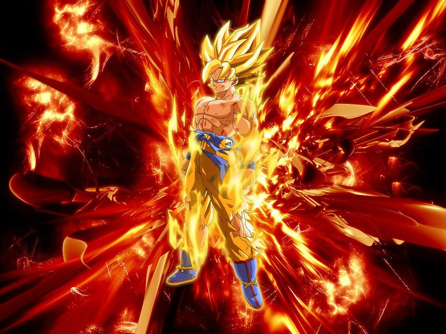 Goku Wallpaper by Grekck 900x675