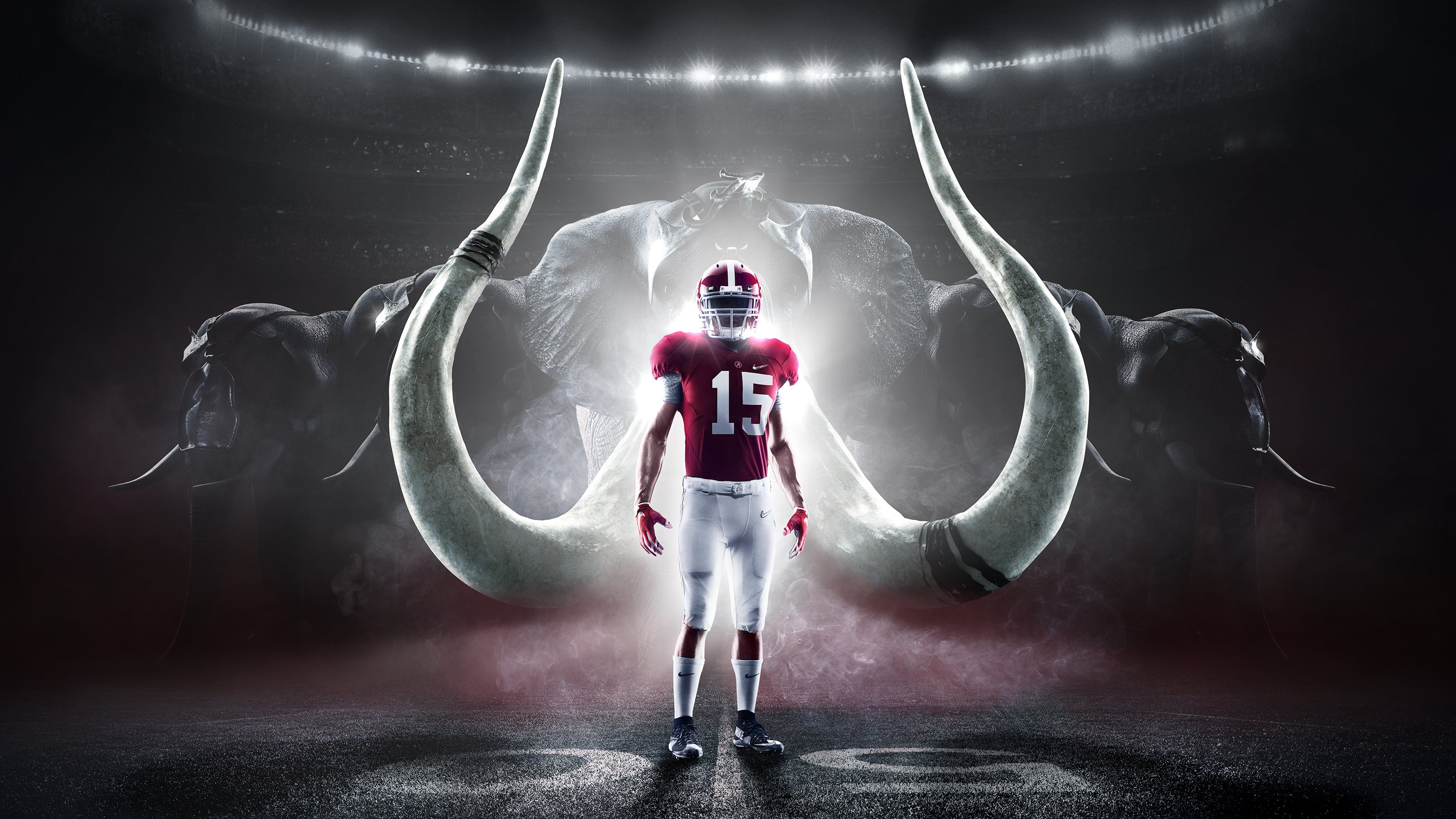 ALABAMA CRIMSON TIDE college football wallpaper background by 3200x1800