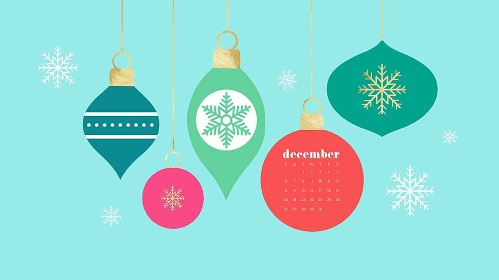 December 2020 calendar wallpapers   41 FREE designs to choose from 1024x576
