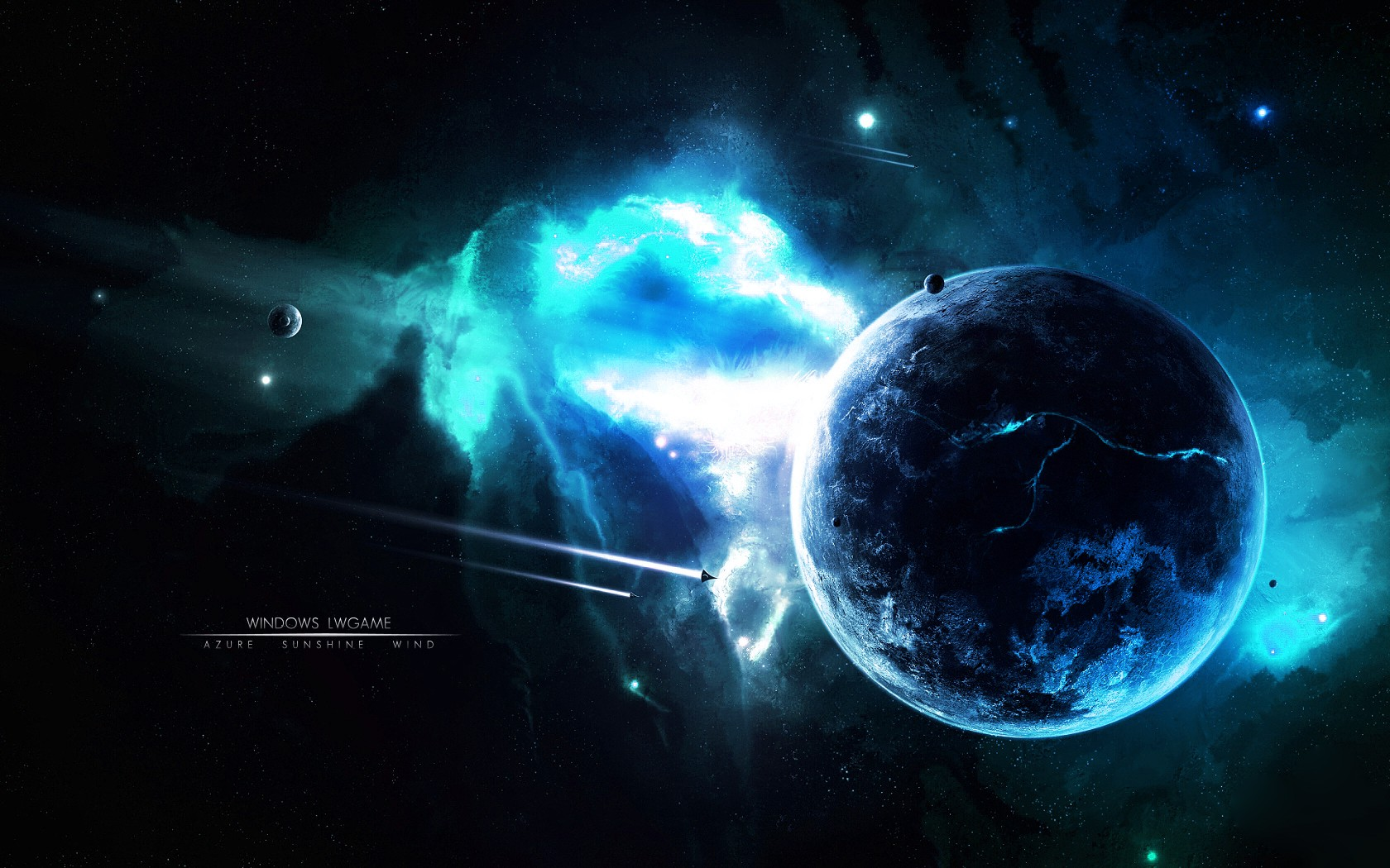 3d Backgrounds Space 3d Outer Space Backgrounds 1680x1050