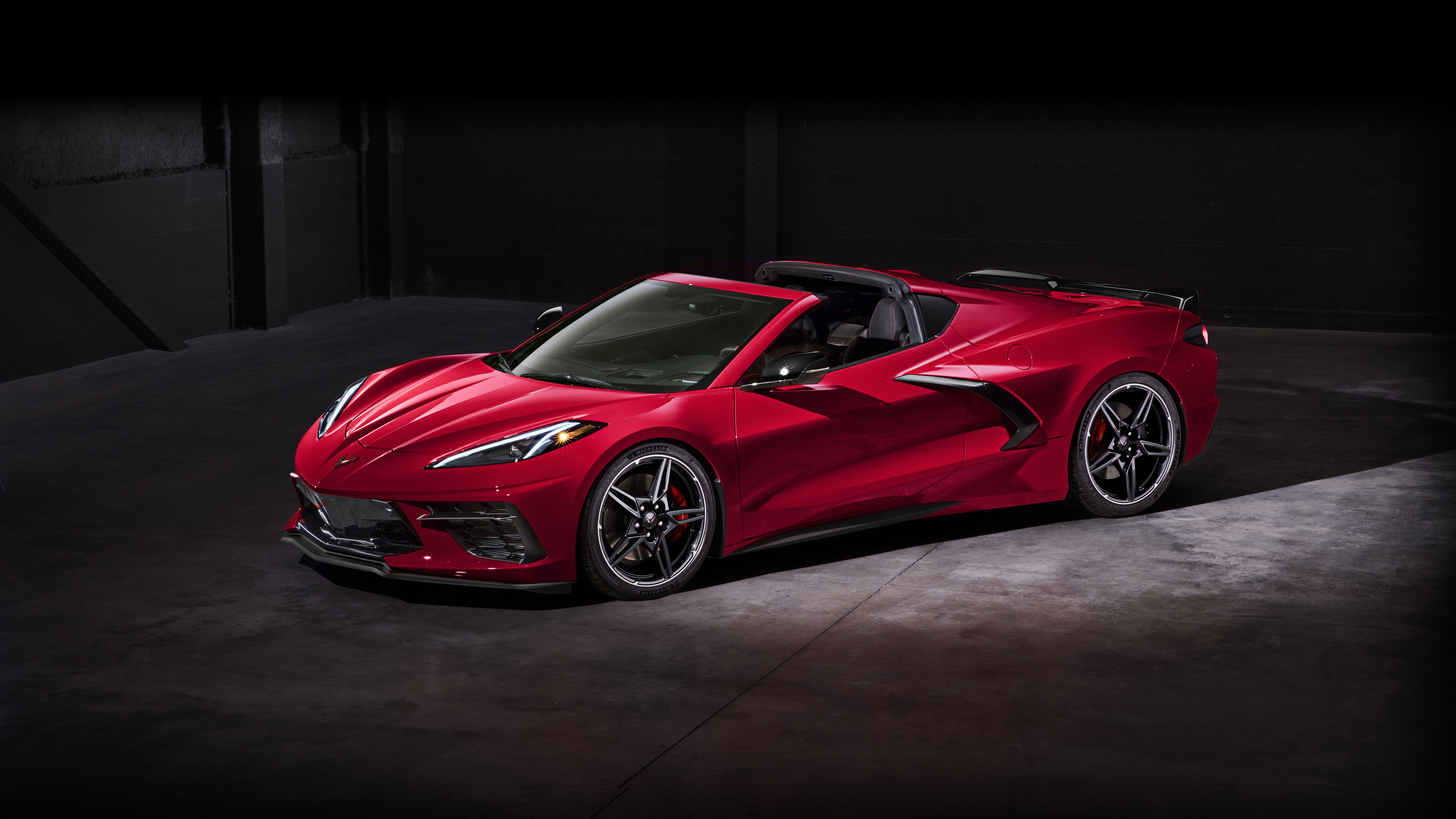 2020 Chevrolet Corvette Stingray Z51 Convertible 4K Wallpaper HD 5120x2880
