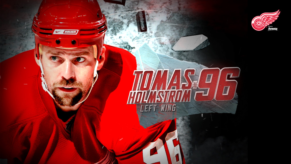 Download Thomas Holmstrom Red Wings Wallpaper HD pictures in high 1024x576