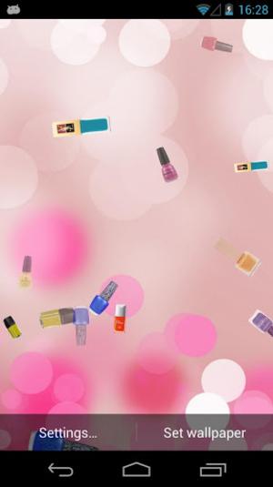Nail salon wallpaper wallpapersafari - Nails wallpaper download ...