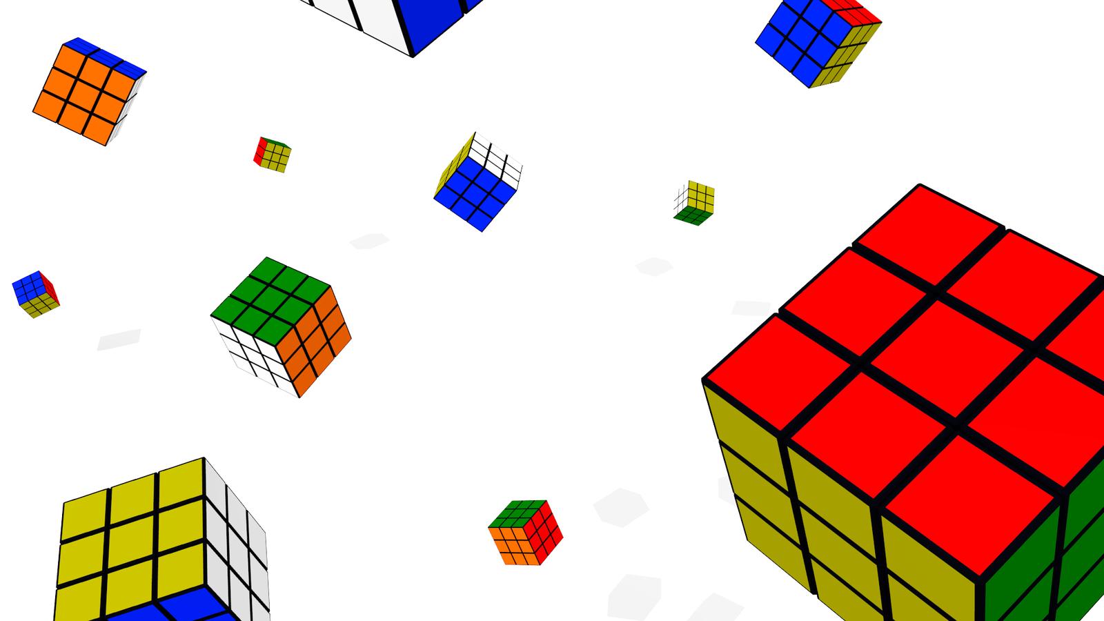Rubiks cube wallpaper by TangoOscarMik3 1600x900