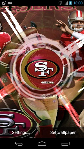 49ers pictures wallpaper impremedia view bigger san francisco 49ers wallpaper for android screenshot voltagebd Images