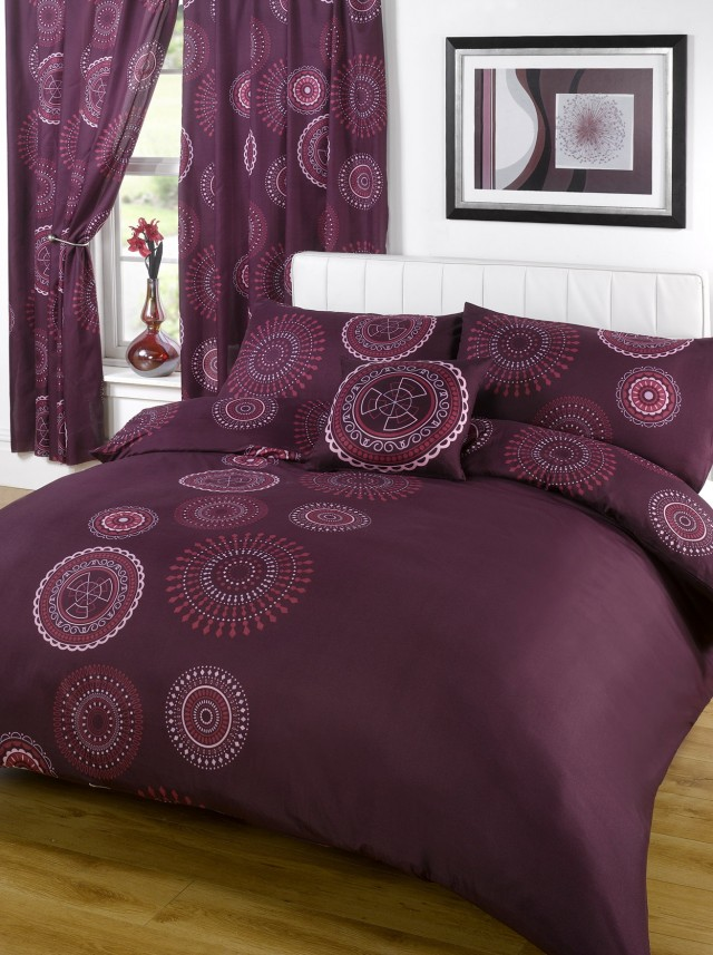 50 Bedspreads With Matching Wallpaper, Queen Bedding And Matching Curtains