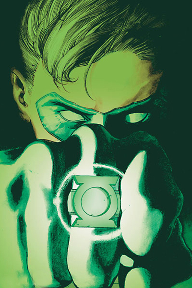 Green Lantern I4 from category cartoons wallpapers for iPhone 640x960