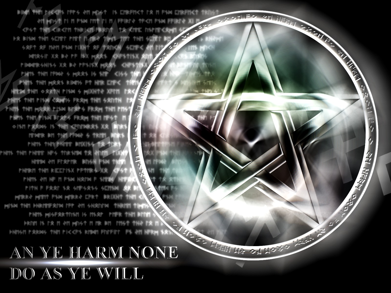 Pentacle wallpaper wicca Pinterest 1600x1200