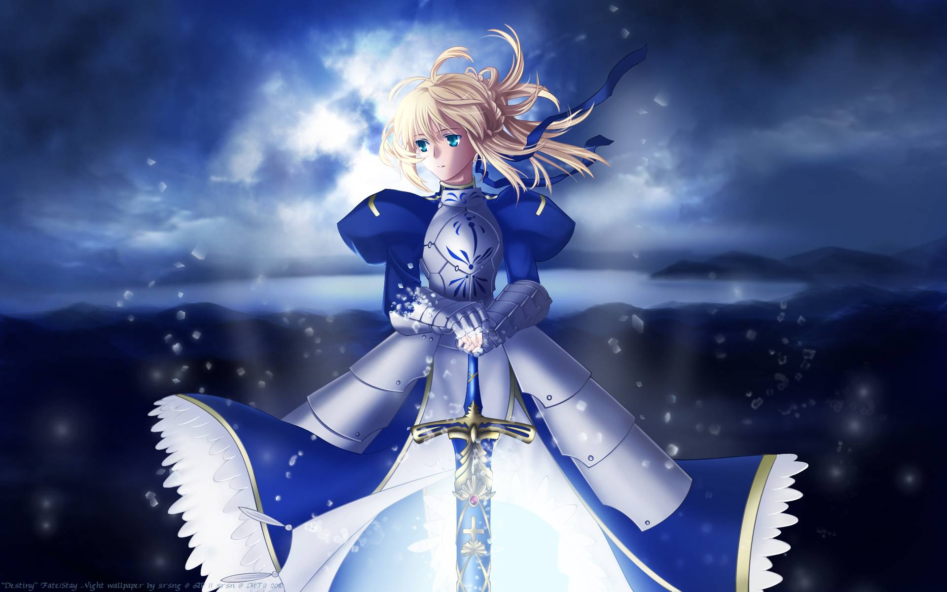Saber   FateStay Night Wallpaper 1920x1200