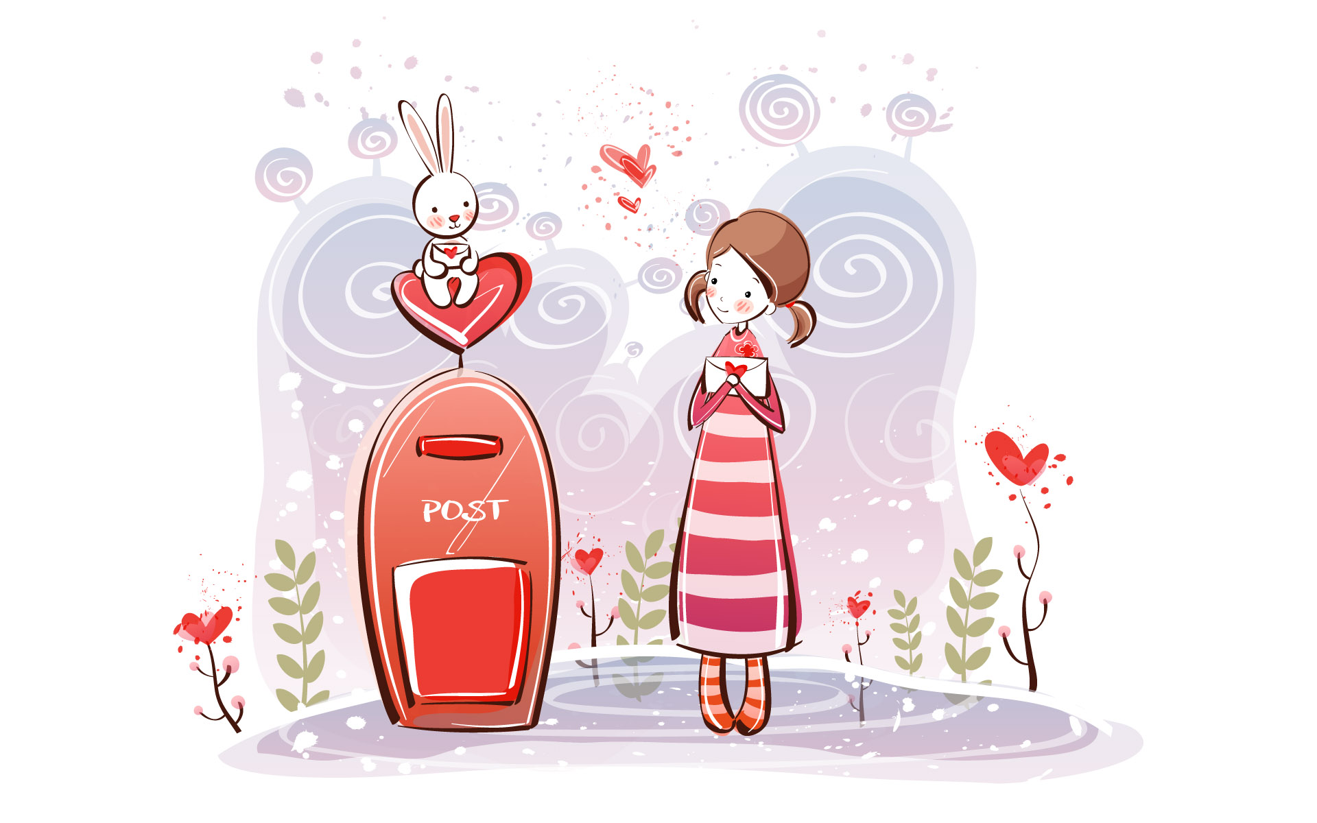 Cartoon Love Couple Wallpapers Download Clip Art 1920x1200