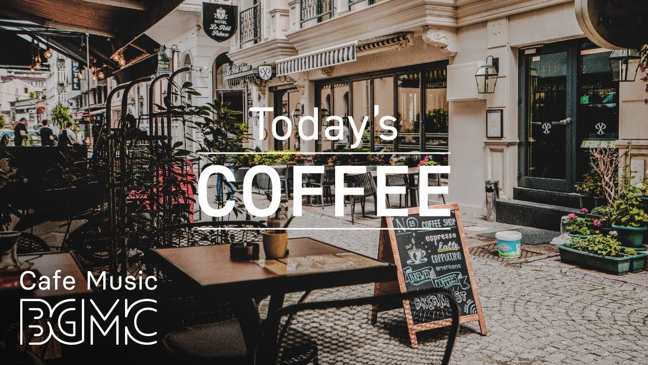 Coffee Shop Music   Relax Jazz Cafe Piano and Guitar Instrumental 1280x720