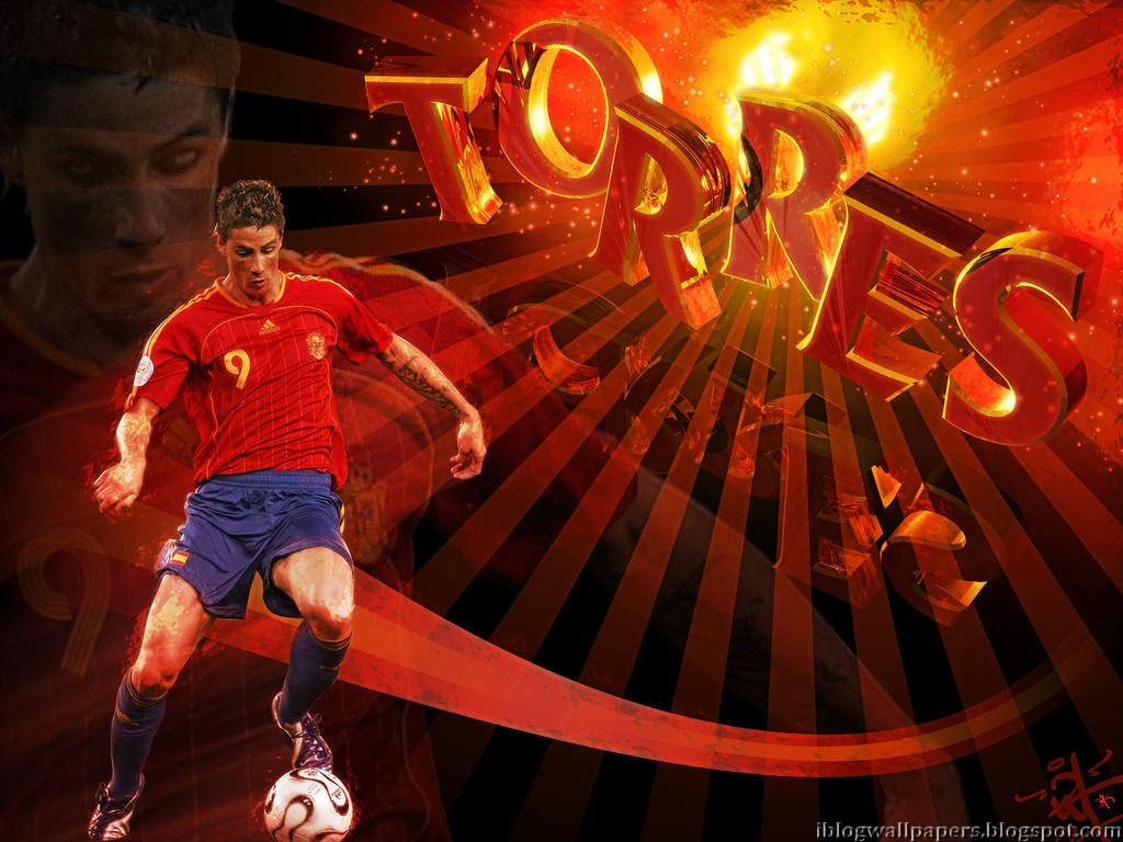 Fernando Torres Spain Wallpaper HD Download Wallpaper 1024x768