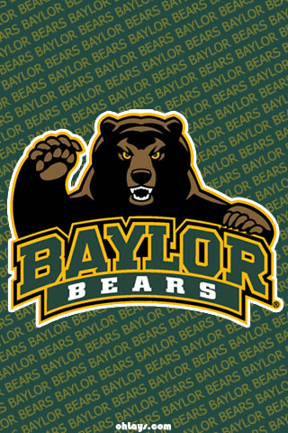 Baylor Bears iPhone Wallpaper 877 ohLays 320x480