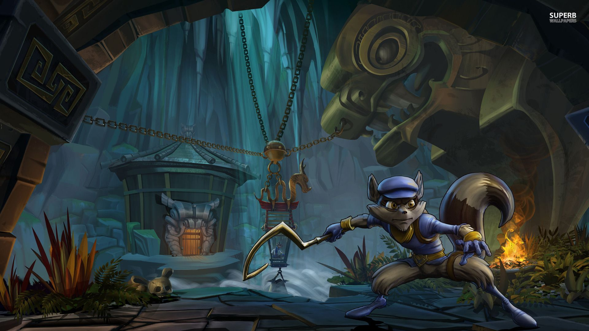 Sly Cooper Thieves in Time Wallpaper Game Wallpapers 1920x1080PX 1920x1080