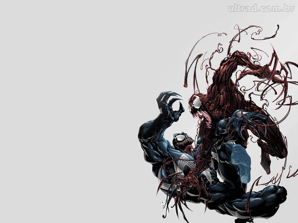 Papel de Parede Venom e Carnage 1024x768