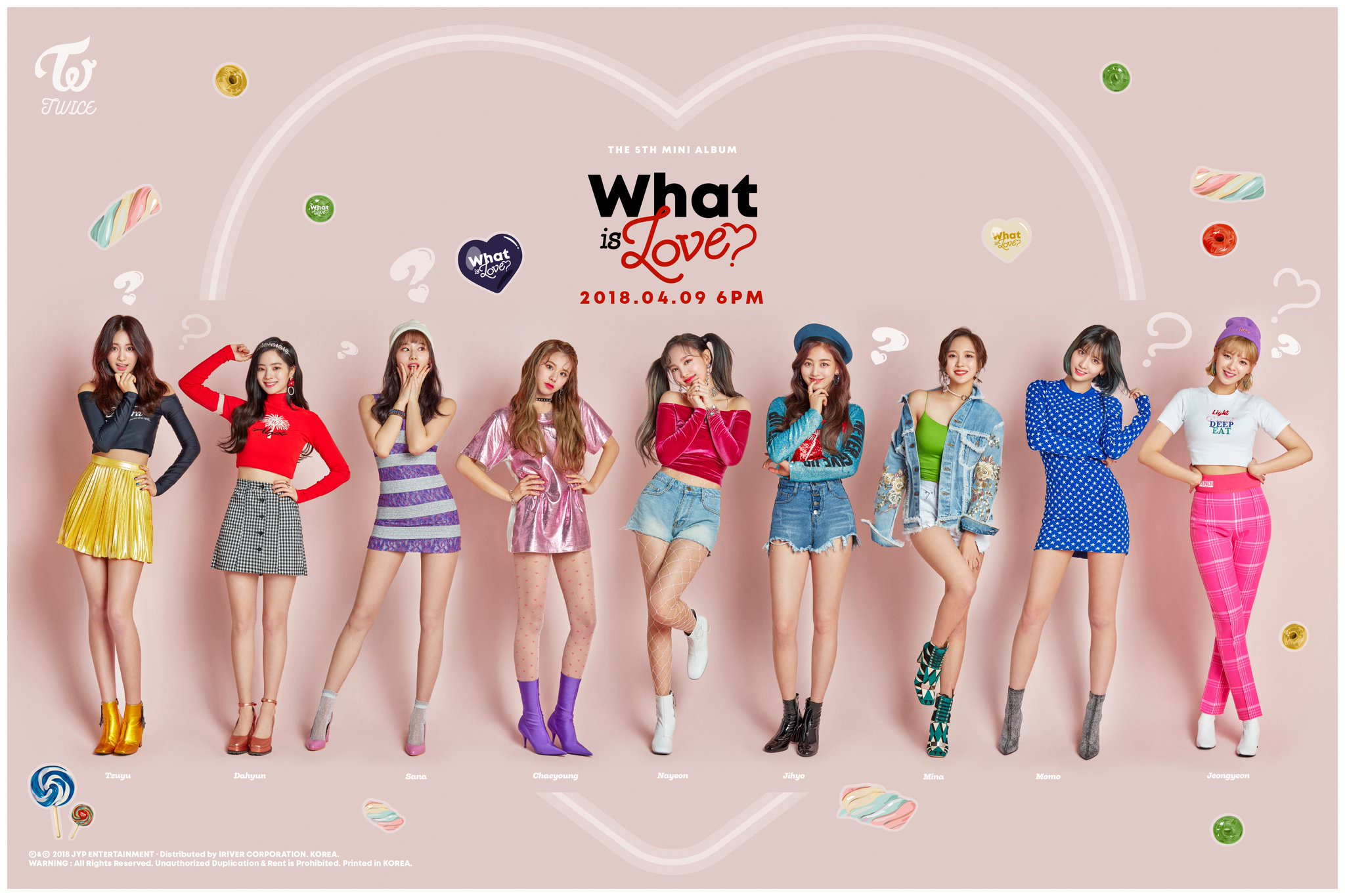 FULL HQ] TWICE Teaser Photos and Photo Card Images for What Is 2048x1365