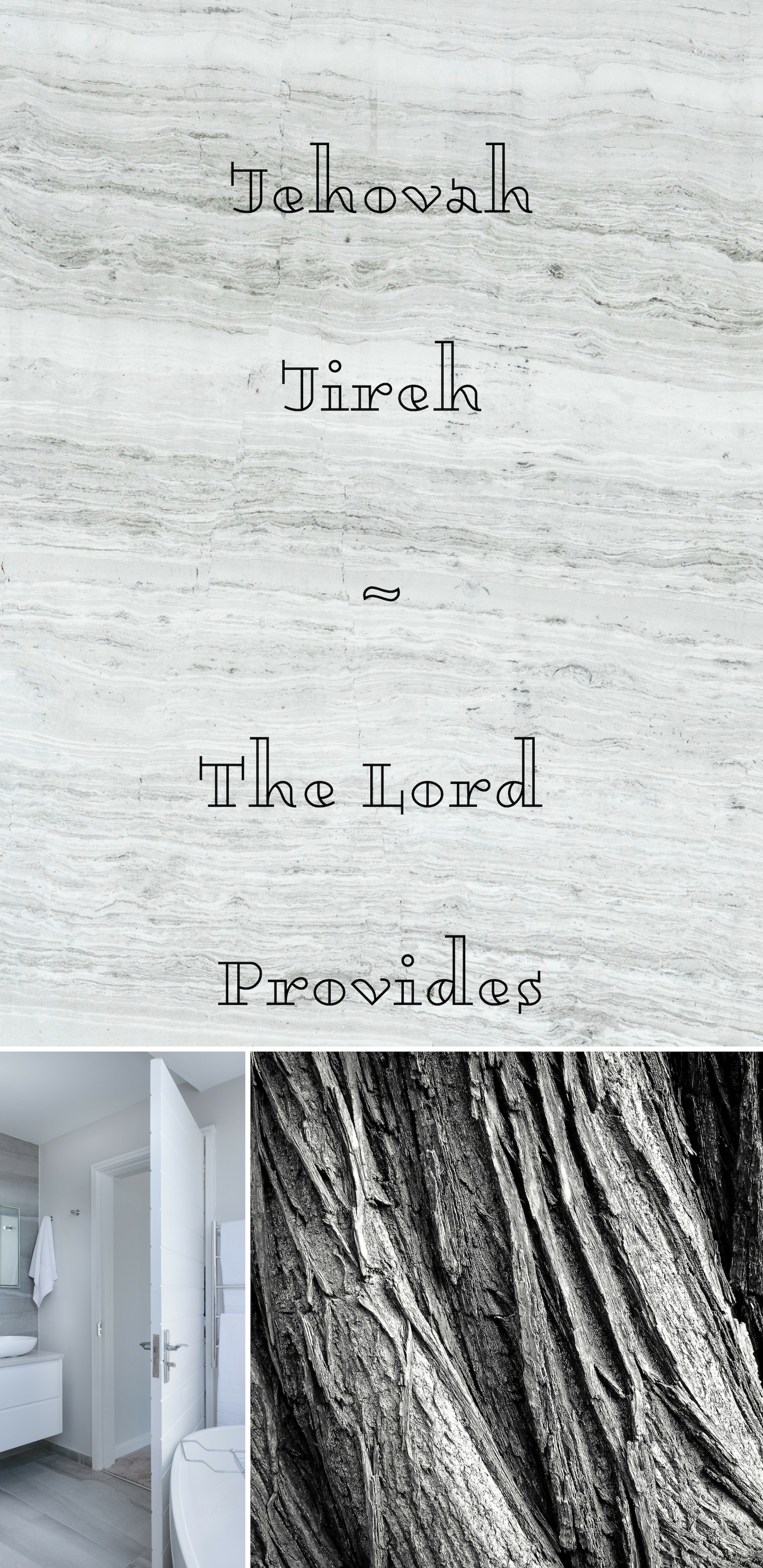 Jehovah Jireh The Lord Provides Themed Multi color Christian 1440x2960