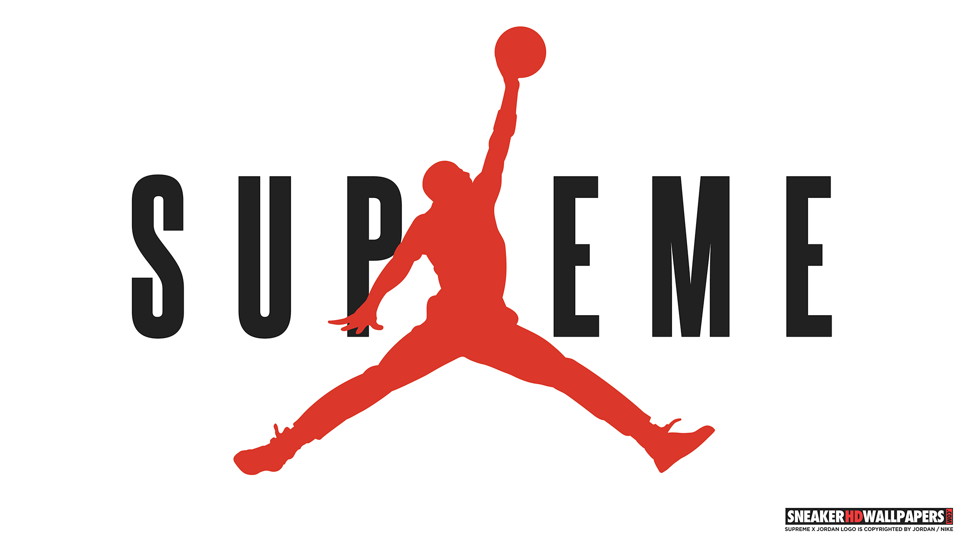 links Supreme x Jordan 4K wallpaper Supreme x Jordan HD wallpaper 1920x1080