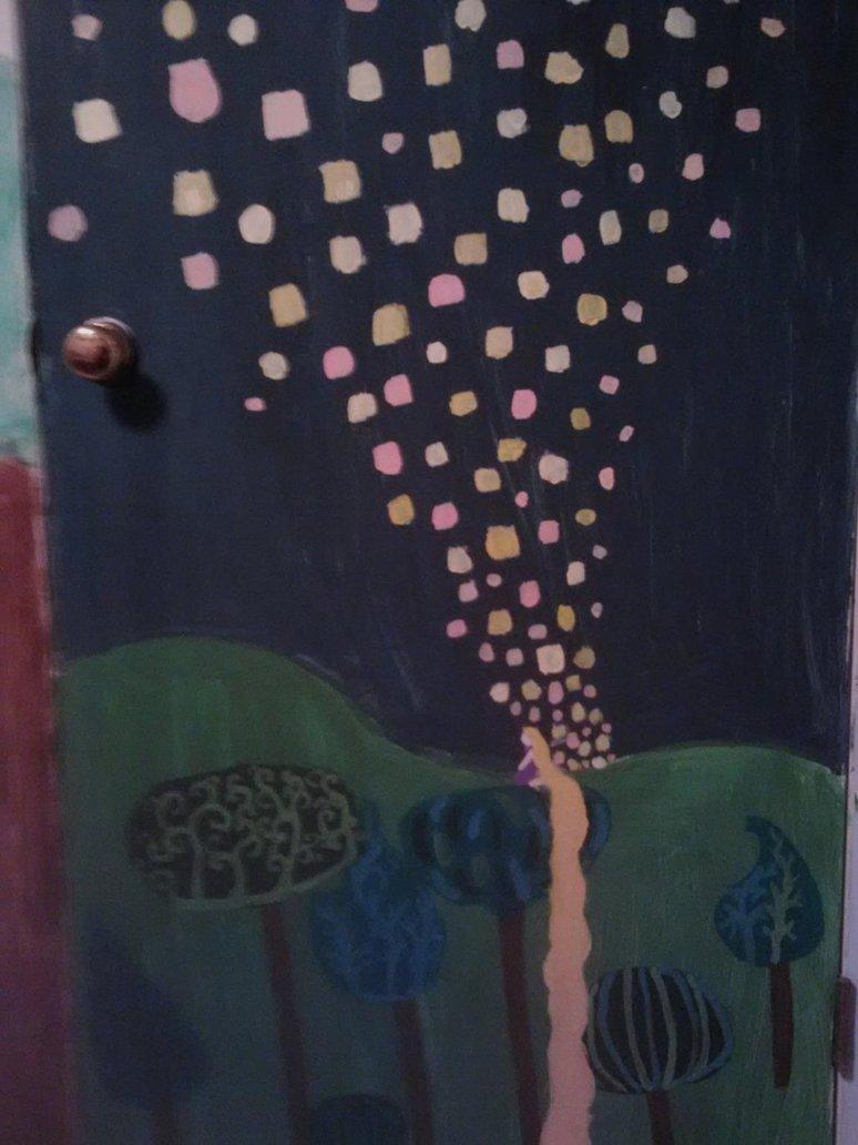 Lantern Mural by Rapunzel13 774x1032