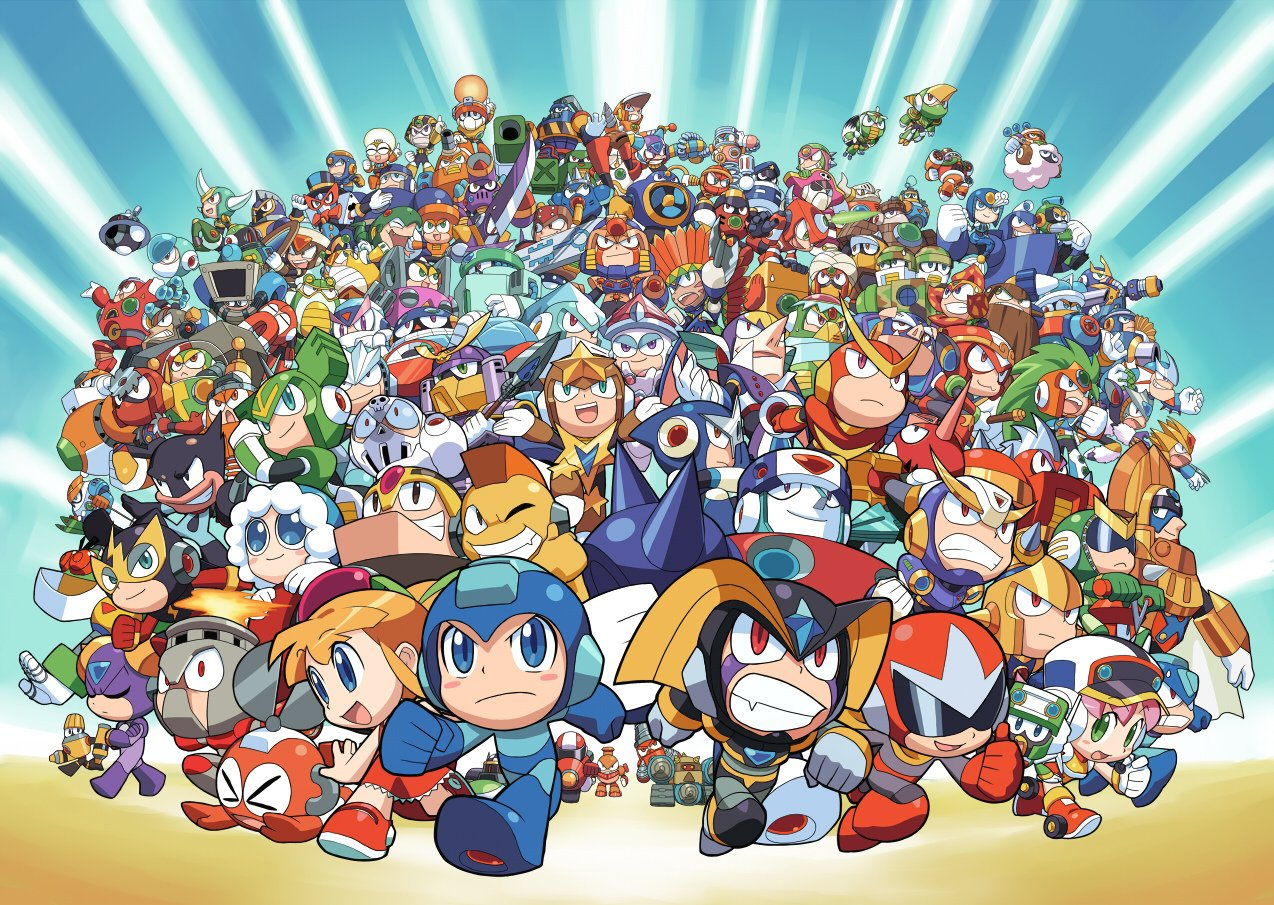 Chibi Megaman Wallpaper on WallpaperSafari