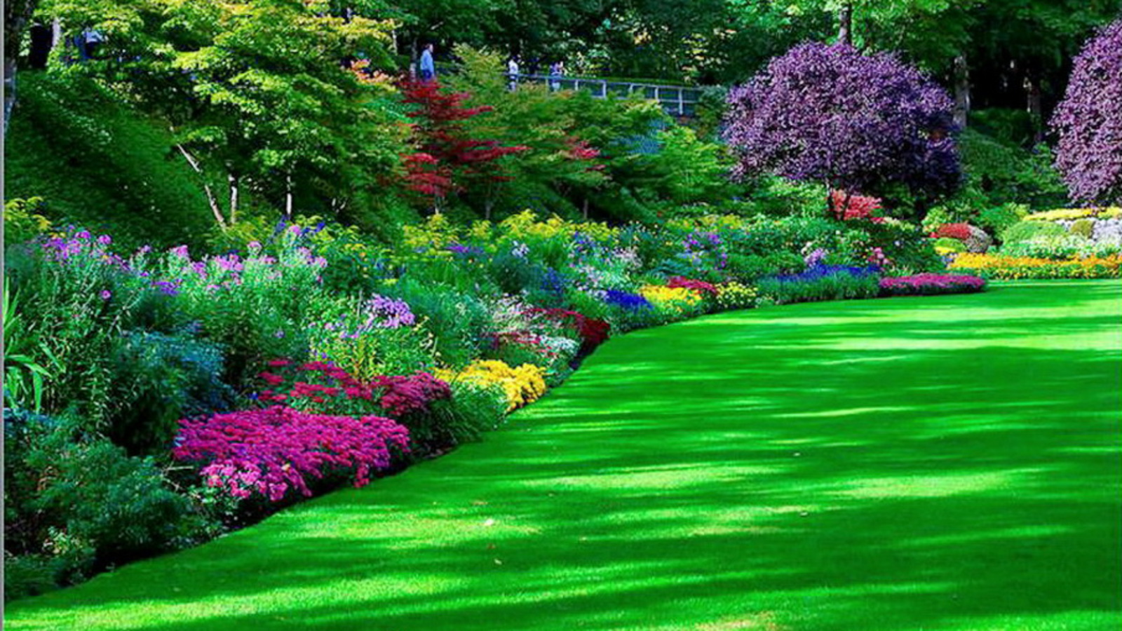 English garden desktop wallpaper wallpapersafari - Nature background pictures for computer ...