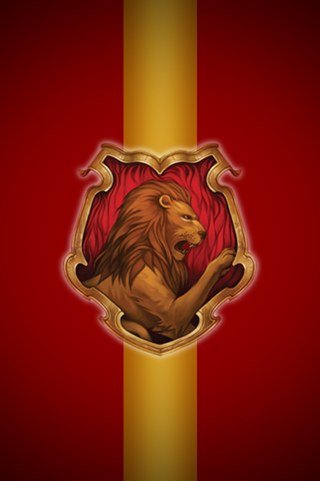 Gryffindor iPhone wallpaper 2 by technoKyle 640x960