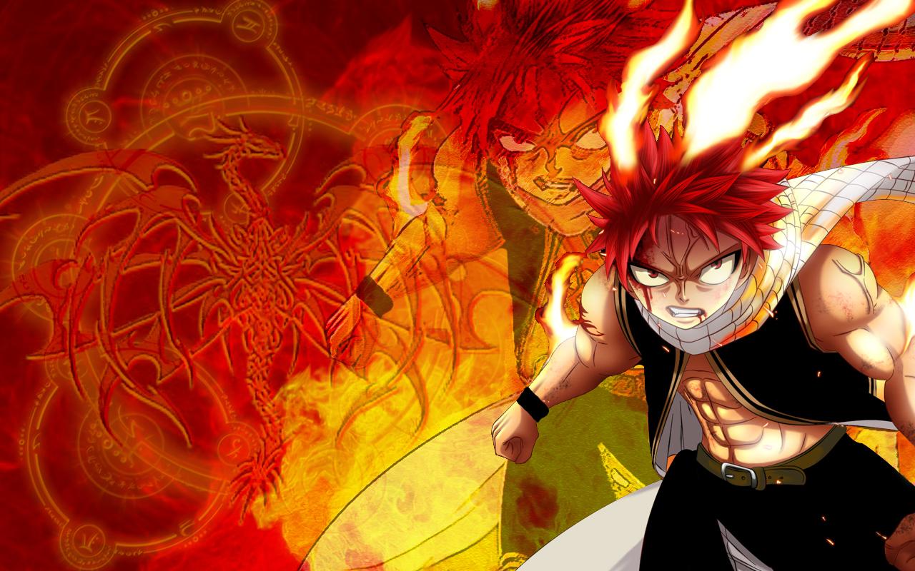 Dragon Natsu Fairy Tail Wallpaper Download Background 1280x800