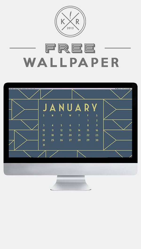 desktop wallpaper     10 Terrific Calendar wallpapers for January 2016 600x1056