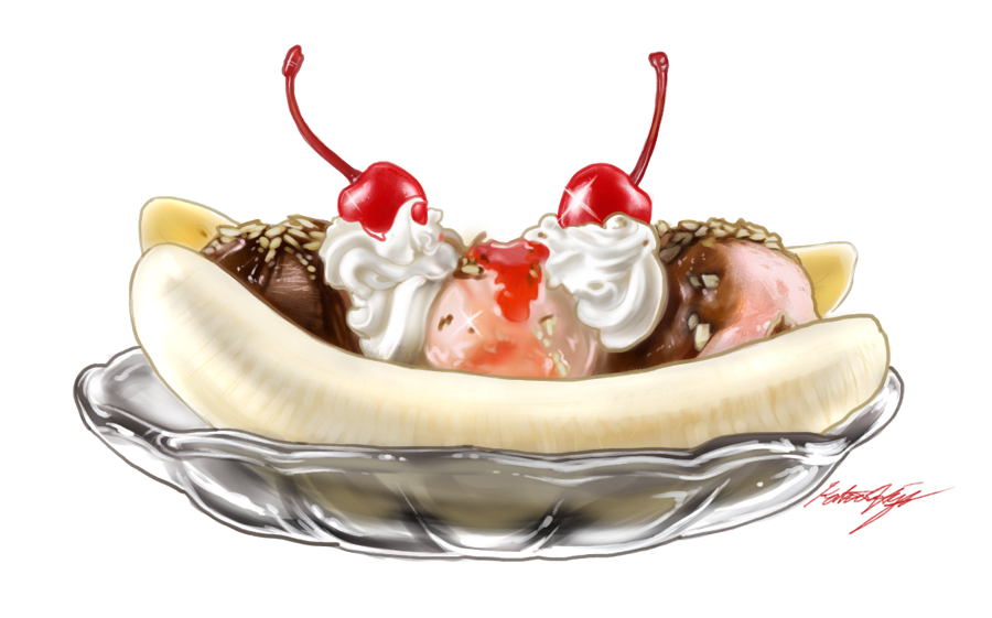Banana Split by Relotixke 900x561