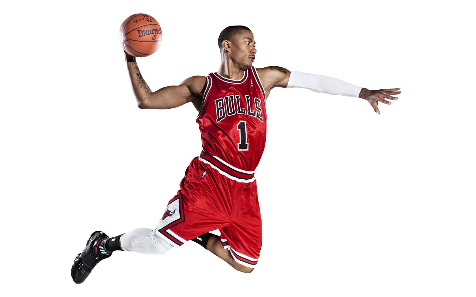 Derrick Rose 2013 Chicago Bulls NBA USA Hd Desktop Wallpaper 1600x1000