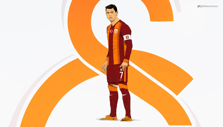 Cristiano Ronaldo 2015 Galatasaray kit wallpaper made by Drifter765.