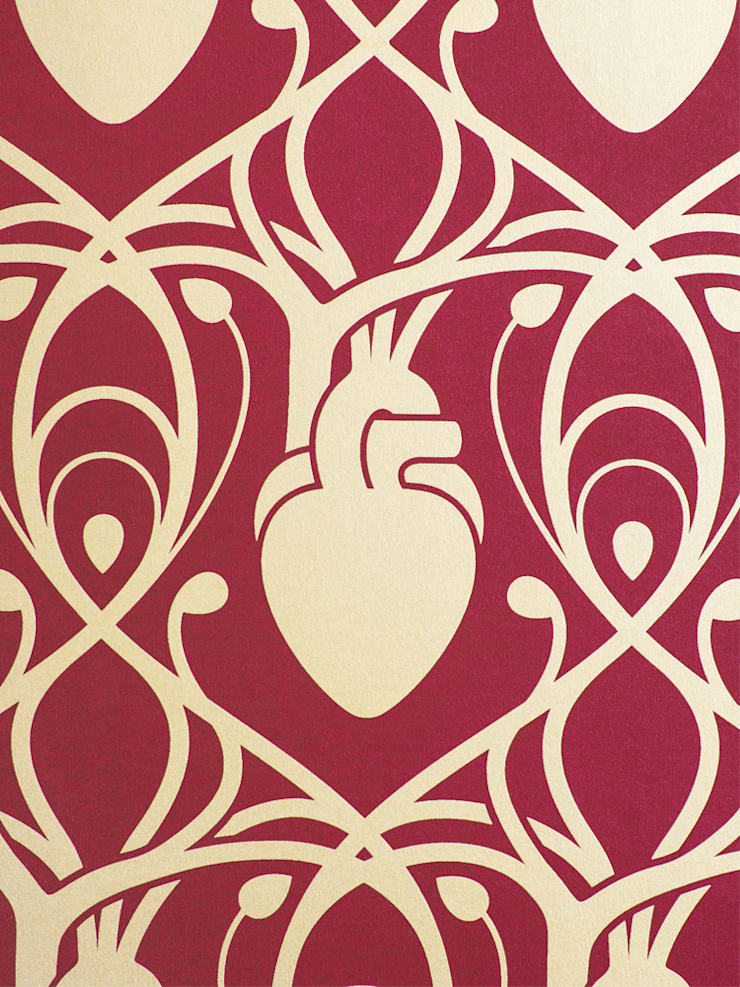 Anatomy Boutique Cardiac Wallpaper by Anatomy Boutique homify 740x987