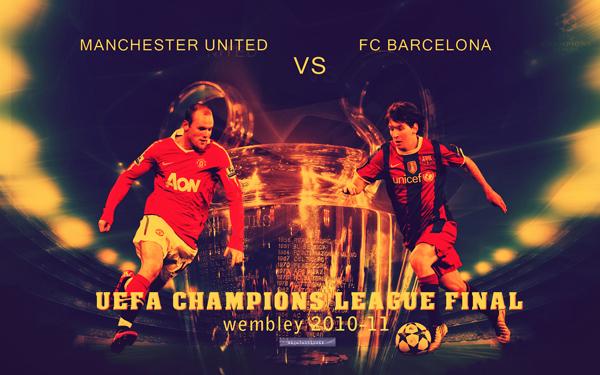 UEFA Champions League Final 2011 Wallpaper   Manchester United vs FC 600x375