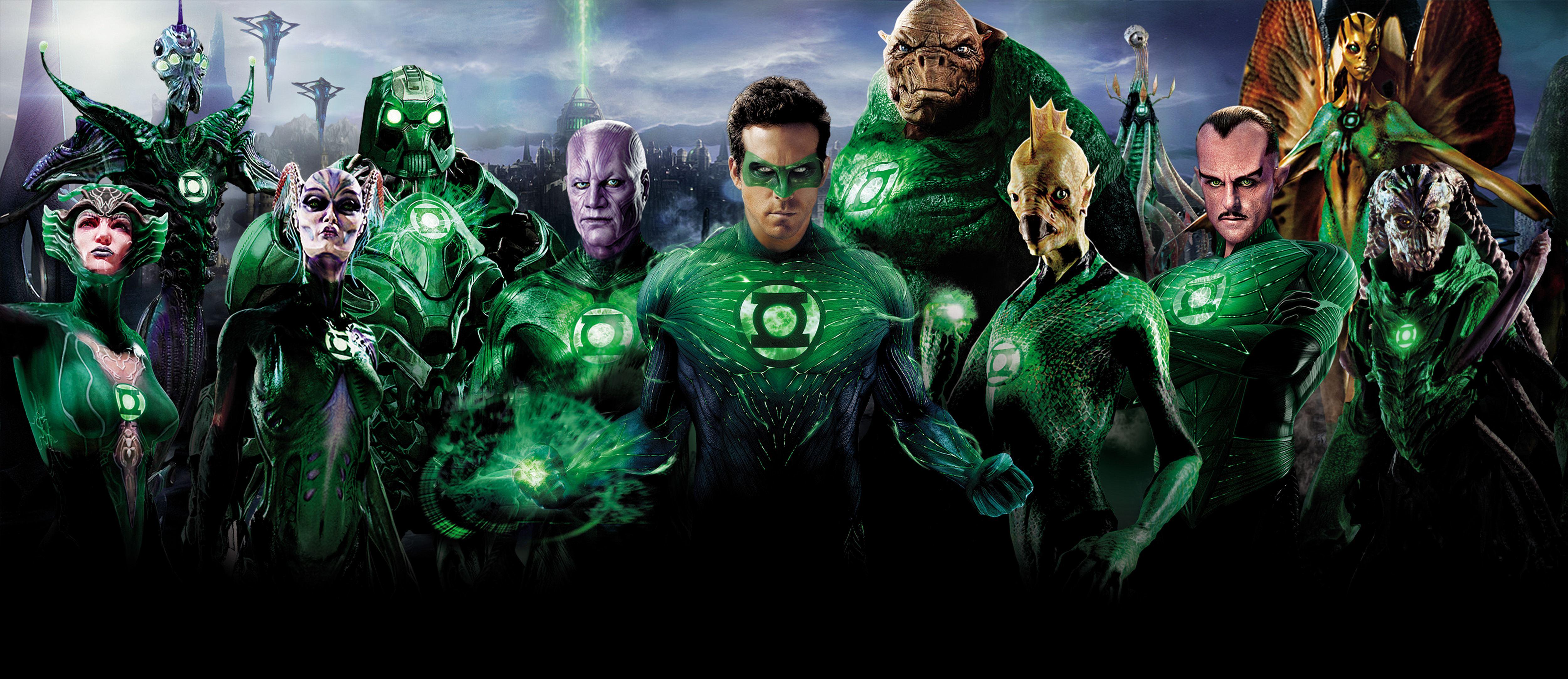 Wallpaper Movies Heroes comics Green Lantern Ryan Reynolds 5000x2167 5000x2167