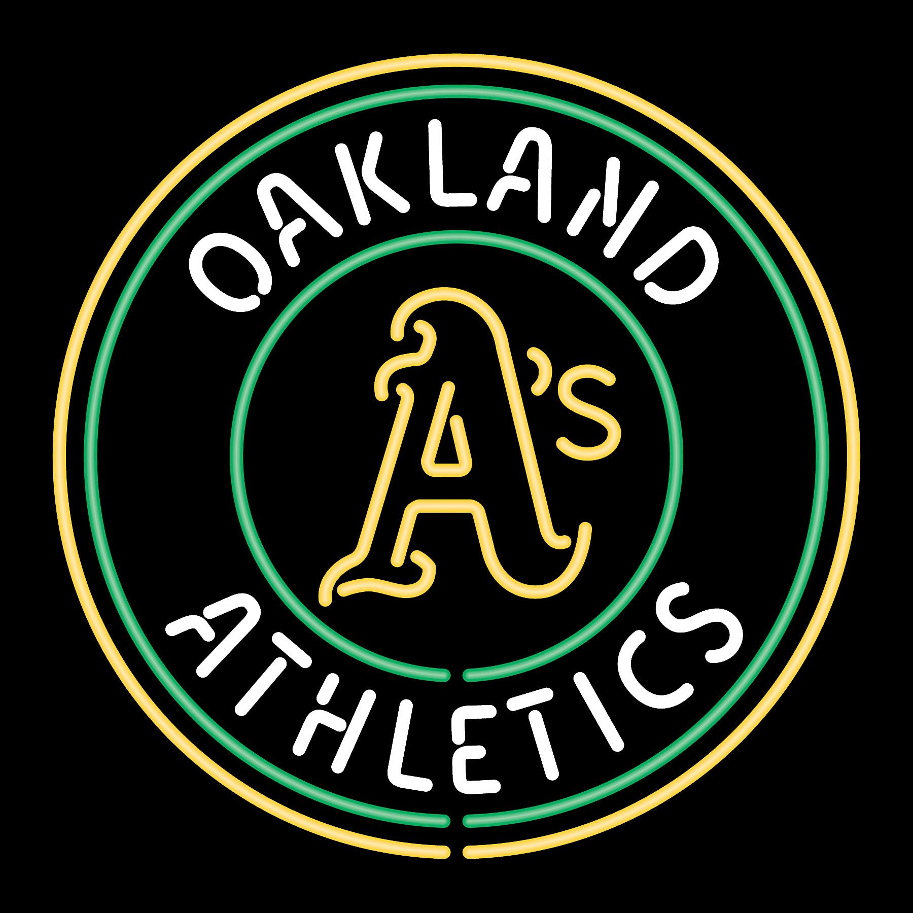 Download OAKLAND ATHLETICS mlb baseball 3 wallpaper background 1800x1800