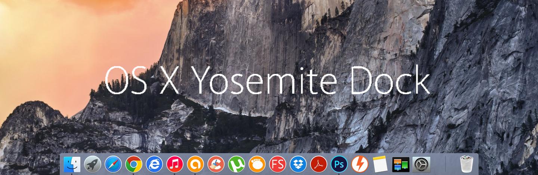 Mac OS X Yosemite Theme Windows 81 Din n Cng Ngh 1440x472