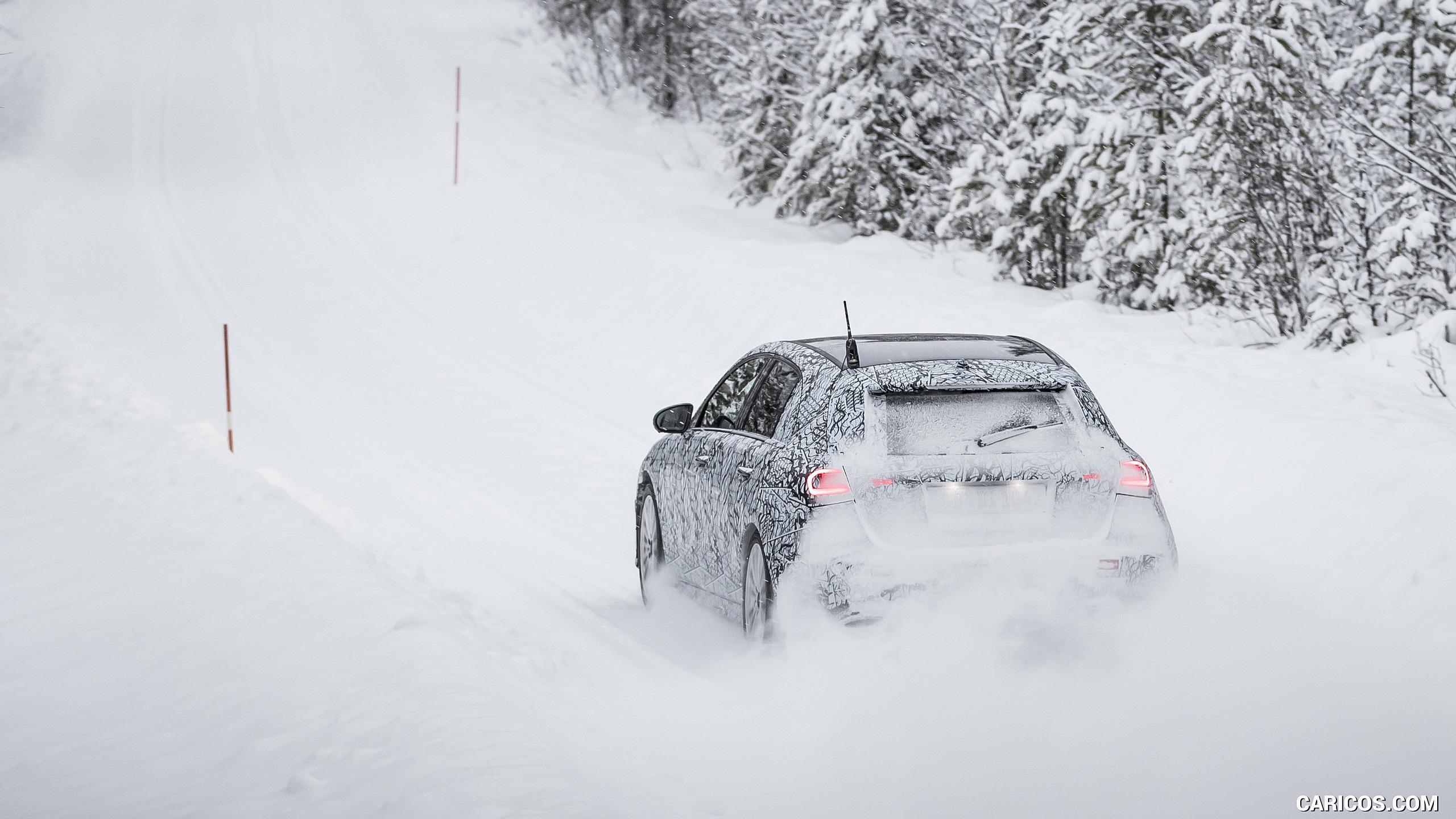 2019 Mercedes Benz A Class   Winter Testing HD Wallpaper 101 2560x1440