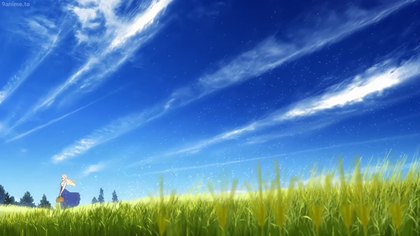 memories MAQUIA WHEN THE PROMISED FLOWER BLOOMS Sayonara no 1366x768