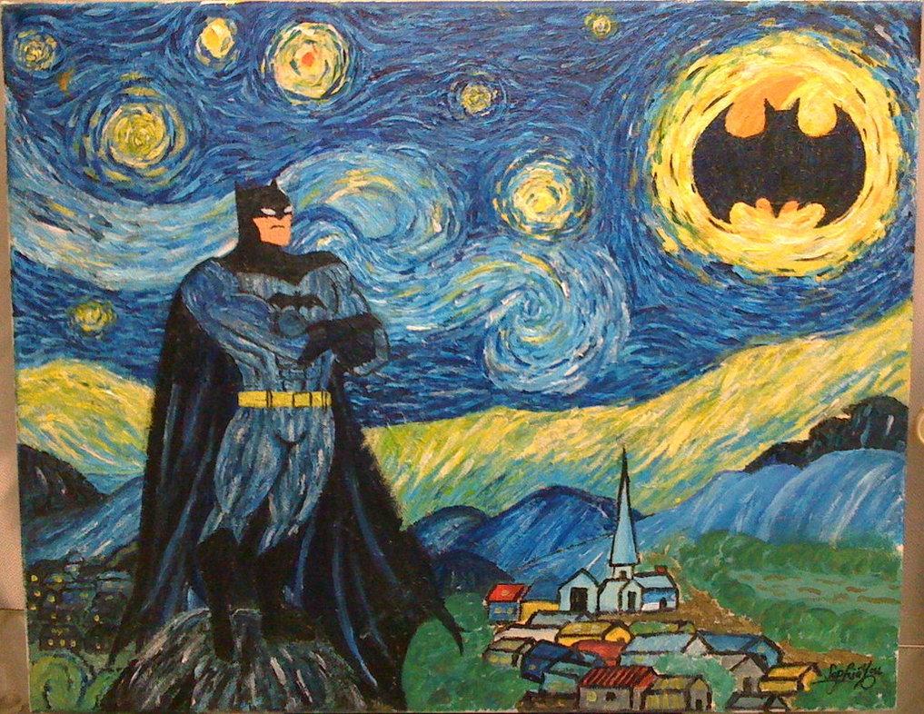 ... batman http zoomar tumblr com post 131488069 holy starry night batman