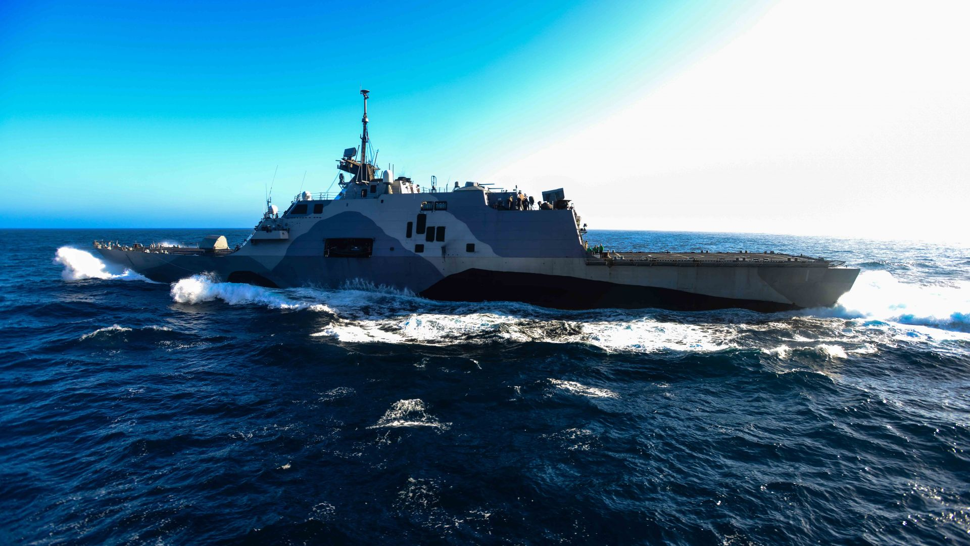 USS Freedom Wallpaper Military USS Freedom LCS 1 lead ship 1920x1080