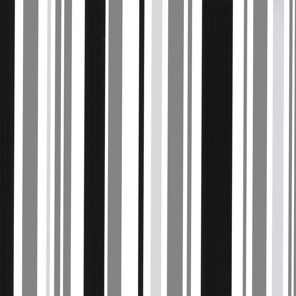 Love Wallpaper Barcode Striped Wallpaper Black Silver White 1000x1000
