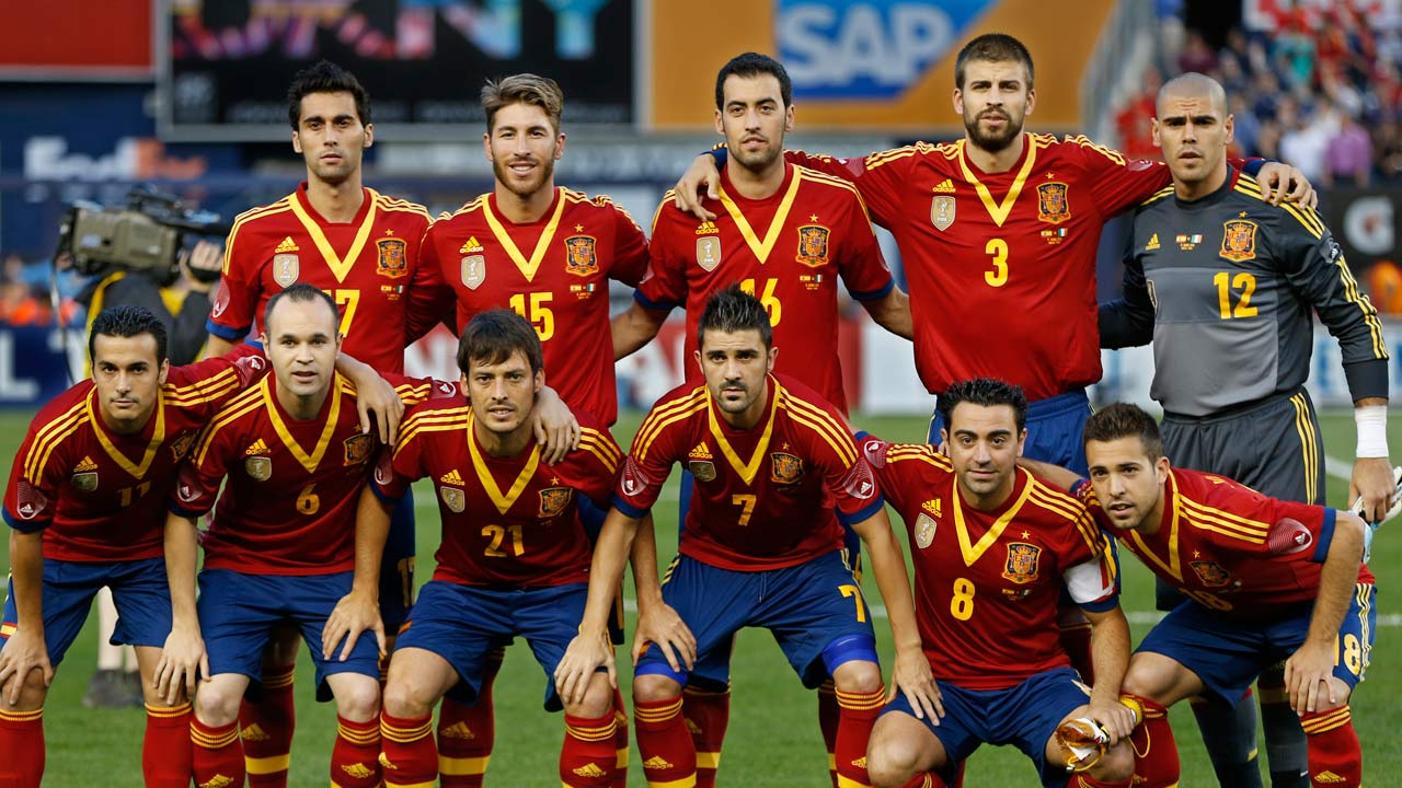 Spain National Team Wallpapers 1280x720